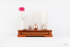 手元供養仏壇MB011 ミニ骨壷とセットで置けるデザイン仏壇