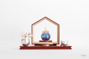 手元供養仏壇-いのりのおうち