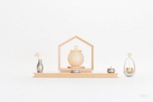 ミニ仏壇 いのりのおうち15(メープル)