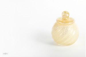 手元供養 分骨用デザイン骨壺】アートガラス製ミニ骨壷「花音:かのん SSサイズ」骨壷専門ブランド七音|ななおと