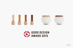 2015グッドデザイン賞を受賞 デザイン位牌とミニ骨壷