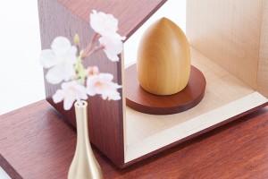 手元供養骨壷 銘木のお骨壷シリーズ