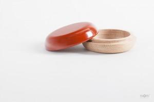 木のお骨壺|ネジ式で持ち運べるirohaシリーズ