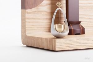 A4仏壇003WL 手元供養のためのステージ仏壇-ミニ仏壇