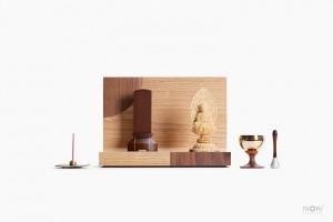 A4(エーヨン)仏壇 A4-003WH