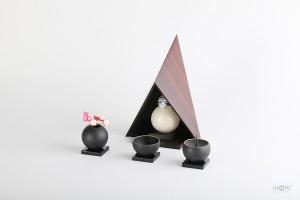デザイン厨子-カシコ KASHIKO Msize ローズウッド
