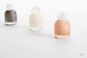 ガラス製分骨用ミニ骨壷-七音