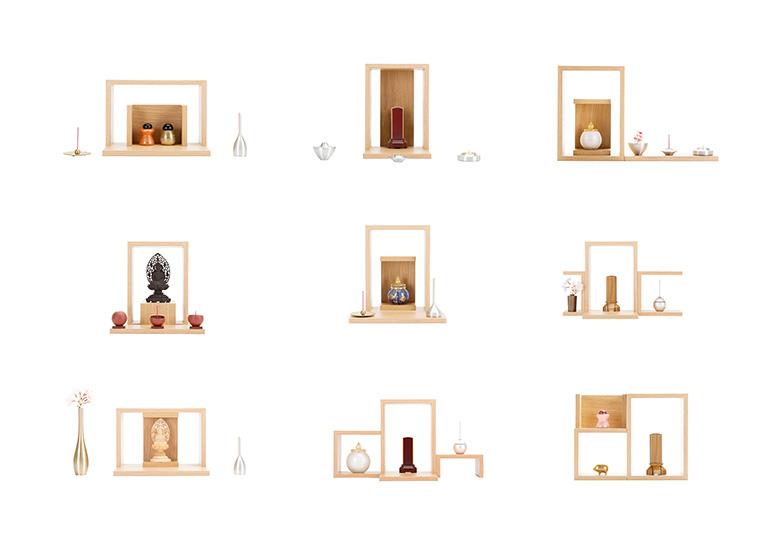 A4仏壇 置き方のイメージ