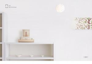 手元供養・デザインミニ仏壇 A4サイズのお仏壇「A4仏壇専用ステージ台:エーヨン仏壇専用ステージ」