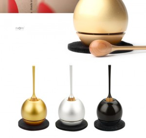 【手元供養・ミニ仏壇に】[仏具・具足・おりん]デザイン仏具のチェリン「cherin」ゴールド