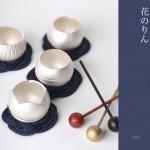 【手元供養・ミニ仏壇に】[仏具・具足・おりん]デザイン仏具の花のりん:チューリップ