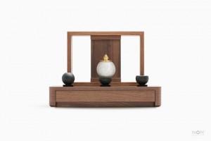 手元供養仏壇 A4-001WL