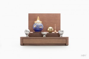 手元供養仏壇 ミニ骨壷さいおん 組合せイメージ