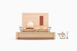 シンプル仏壇 A4-003NWH
