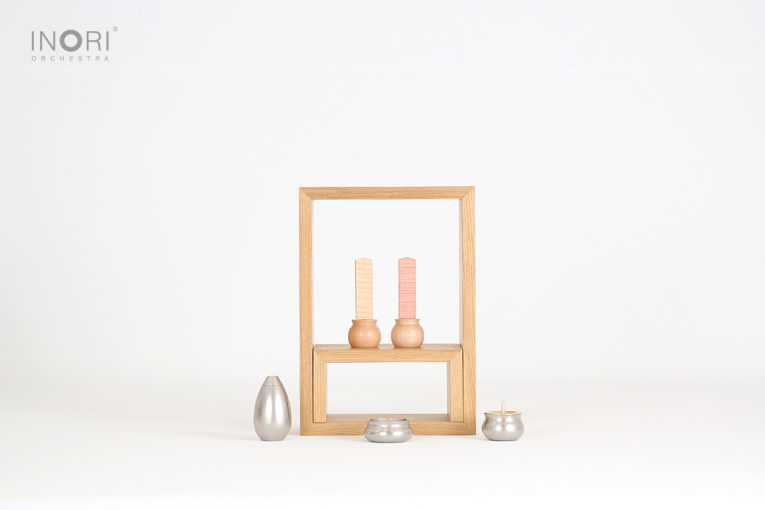 グッドデザイン受賞のA4仏壇とやさしい位牌