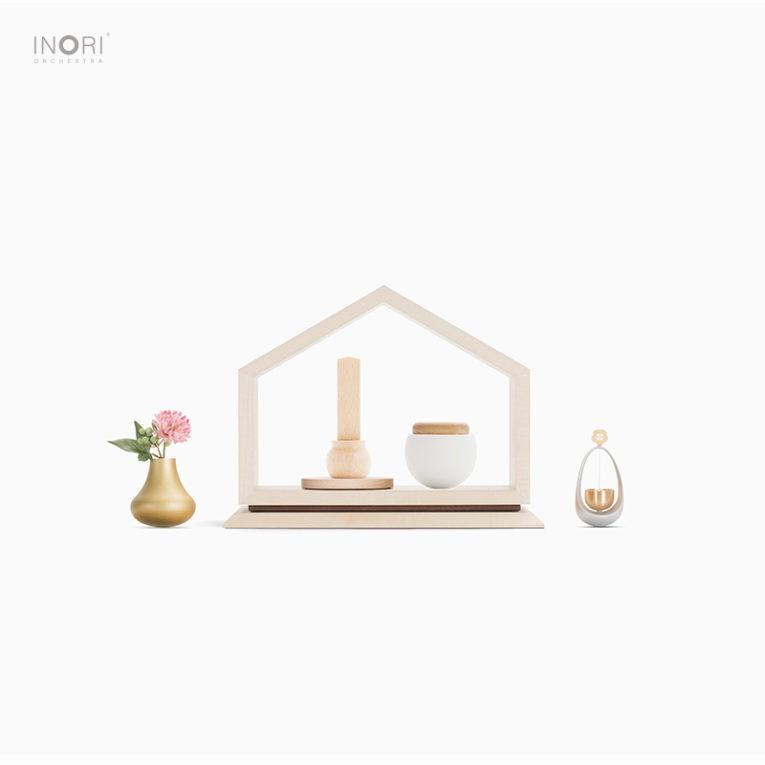 ミニ骨壷と赤ちゃんの仏壇