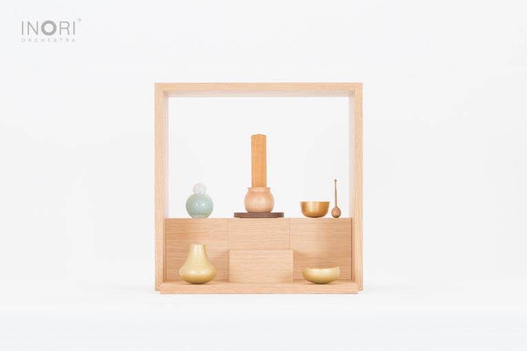 いのりオーケストラのミニ仏壇、いのり箱