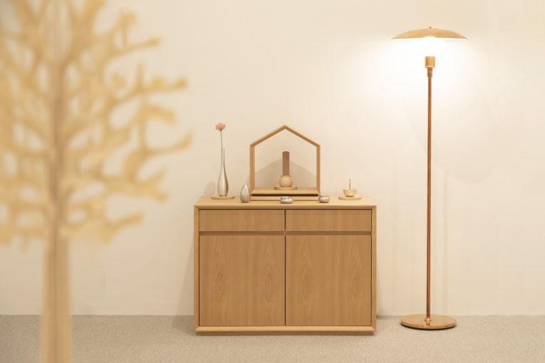 祈りの家具、母と桜と