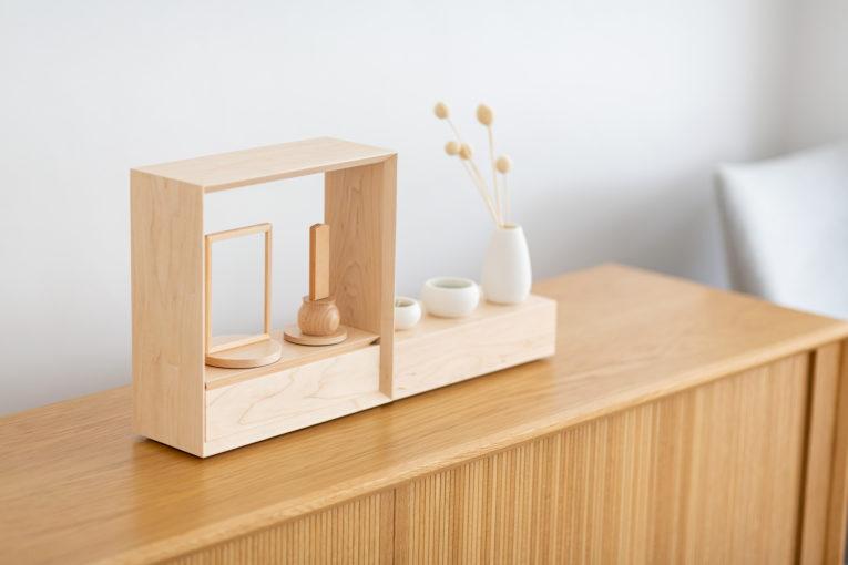 デザイン仏壇、小さないのり箱