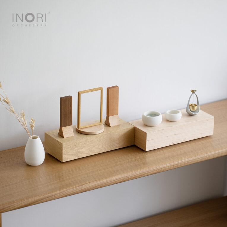 ステージ型仏壇、おもいで小箱